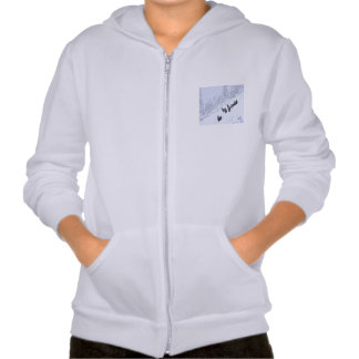 chamois hooded pullover