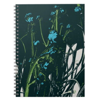 chamomile blue mood notebook