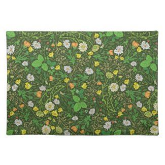 Chamomile Country Charm Cloth Placemat