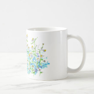Chamomile Daisy Garden Herb Happy Flowers Coffee Mug