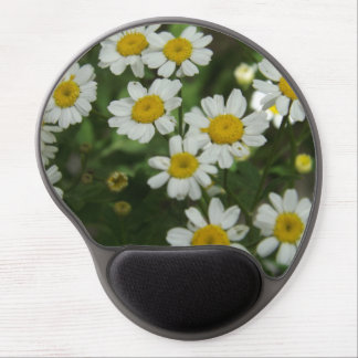 Chamomile Flowers Gel Mousepad