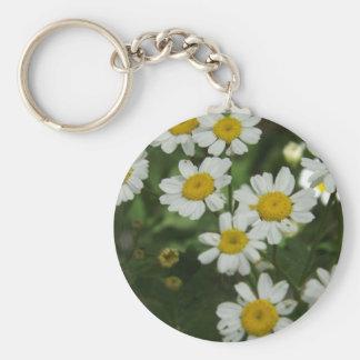 Chamomile Flowers Keychain