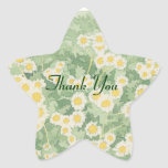 Chamomile Thank You Stickers