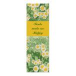 "Chamomiles Daisies 1"" x 3"" Mini Book Marker Business Card"