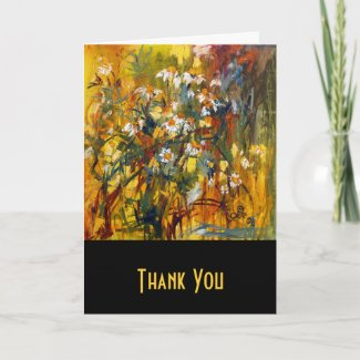 Chamomille Customizable Card by Ginette card