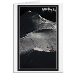 Chamonix - Aiguille du Midi Arete Solo Card