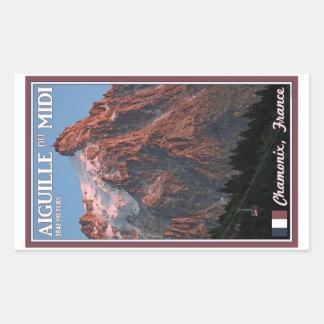 Chamonix - Aiguille du Midi Rectangular Altavoz