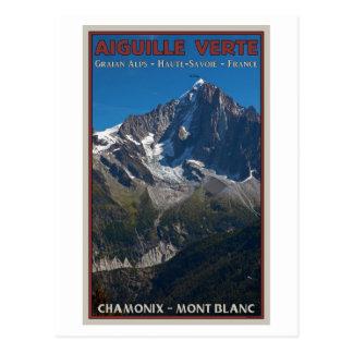 Chamonix - Aiguille Verte Postales