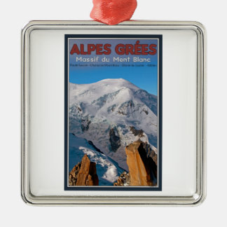 Chamonix - Alpes Grees Adornos De Navidad