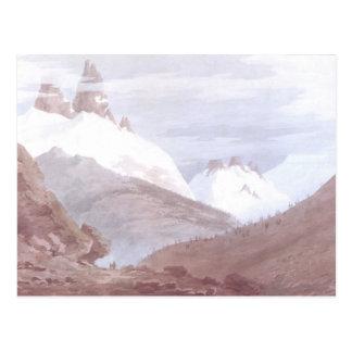 Chamonix and Martigny Postcard