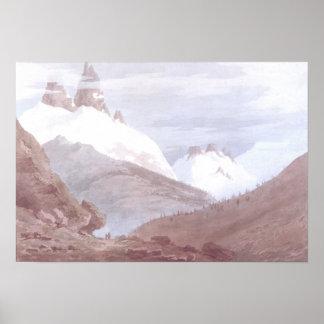 Chamonix and Martigny Poster