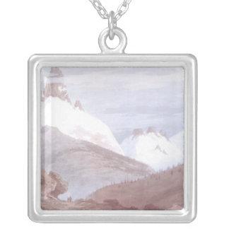 Chamonix and Martigny Silver Plated Necklace