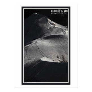 Chamonix - Arete de Aiguille du Midi a solas Postal