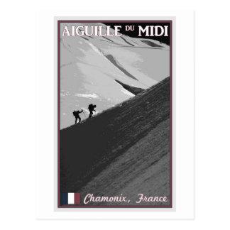 Chamonix - Arete de Aiguille du Midi Postales