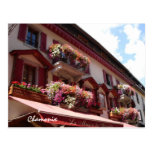 Chamonix balconies Postcard