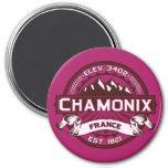 Chamonix Color Logo Magnet Fridge Magnet