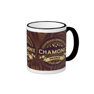 Chamonix Color Logo Coffee Mugs