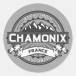 Chamonix Color Logo Sticker