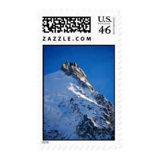 Chamonix de Aiguille de Midi Mont Blanc Francia Sello