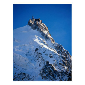 Chamonix de Aiguille de Midi Mont Blanc Francia Tarjeta Postal