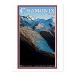 Chamonix - DES Bossons del glaciar Postal