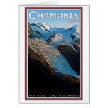 Chamonix - DES Bossons del glaciar Tarjetas