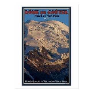 Chamonix - Dome du Gouter Postcard
