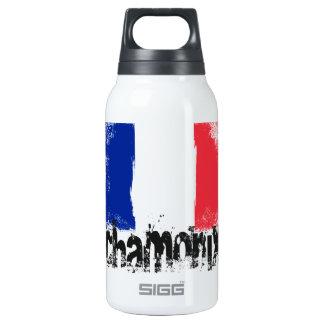 Chamonix Grunge Flag Insulated Water Bottle