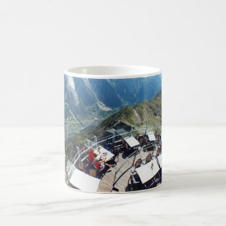 Chamonix in the valley, French Alps Coffee Mugs