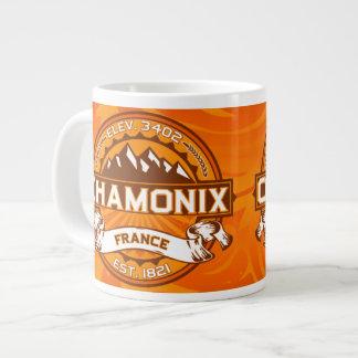 Chamonix Jumbo Tangerine Jumbo Mugs