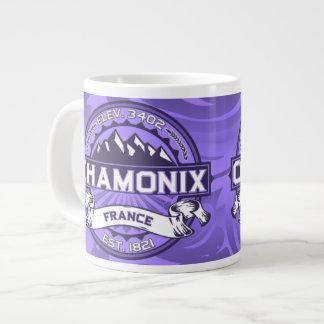 Chamonix Jumbo Violet Extra Large Mug
