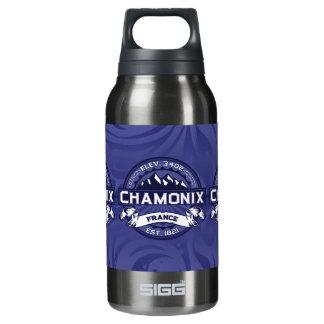 Chamonix Logo Midnight Insulated Water Bottle