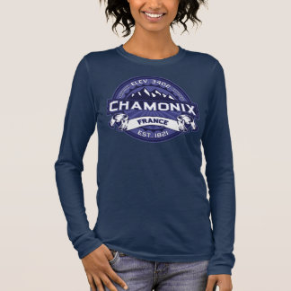 Chamonix Logo Midnight Long Sleeve T-Shirt