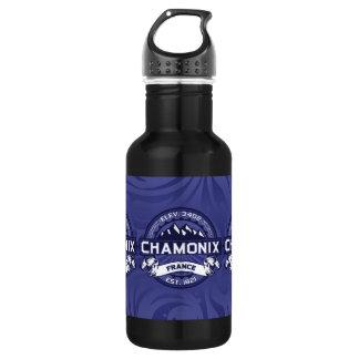 Chamonix Logo Midnight Stainless Steel Water Bottle