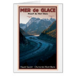 Chamonix - Mer de Glace Greeting Card