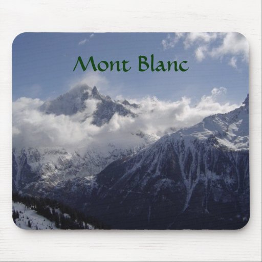 Chamonix-Mont-Blanc Alfombrillas De Ratón