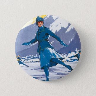 Chamonix-Mont Blanc Button