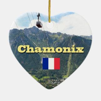 Chamonix - Mont Blanc Ceramic Ornament