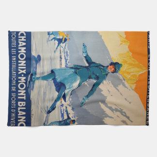 Chamonix – Mont Blanc Kitchen Towel