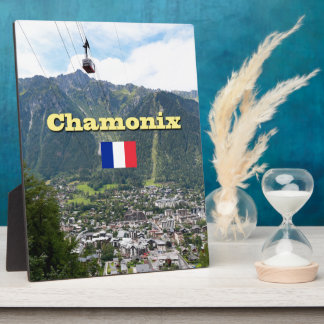 Chamonix - Mont Blanc Placa Para Mostrar