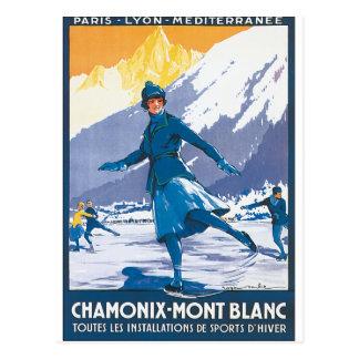 Chamonix-Mont Blanc Postcard