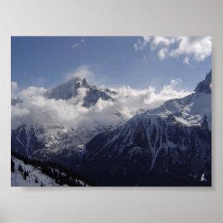 Chamonix-Mont-Blanc Poster
