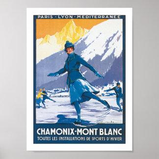 Chamonix-Mont Blanc Poster
