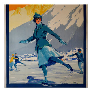 Chamonix – Mont Blanc Poster