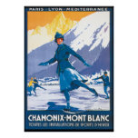 Chamonix Mont Blanc Posters