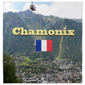 Chamonix - Mont Blanc Servilleta De Papel