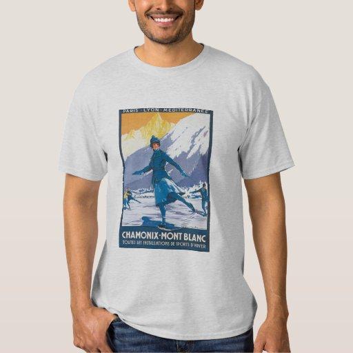 chamonix mont blanc t shirt zazzle