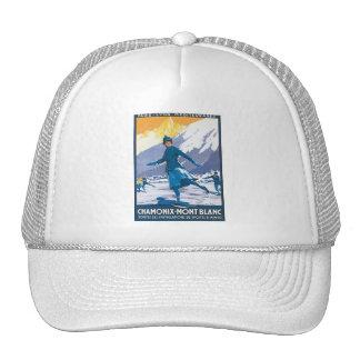 Chamonix Mont Blanc Trucker Hat