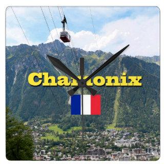 Chamonix - Mont Blanc Wallclock