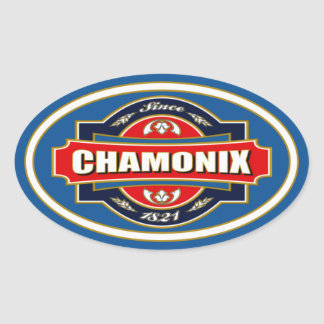 Chamonix Old Label